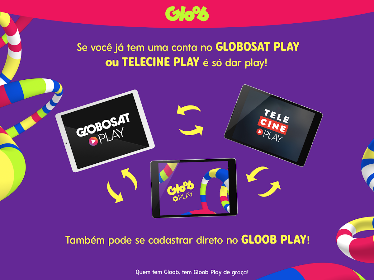 Gloob Play: captura de tela