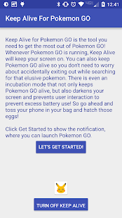 Keep Alive for Pokémon GO cracked apk