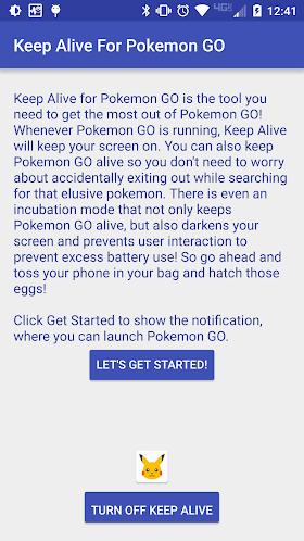 Keep Alive for Pokemon GO 0.02 APK