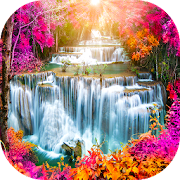 App Waterfall Backgrounds Live HD APK for Windows Phone