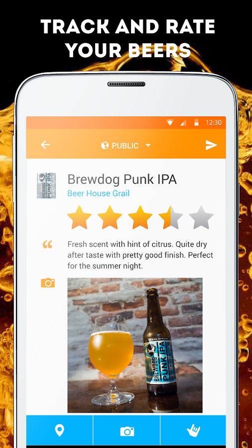 Pint Please Beer App- screenshot