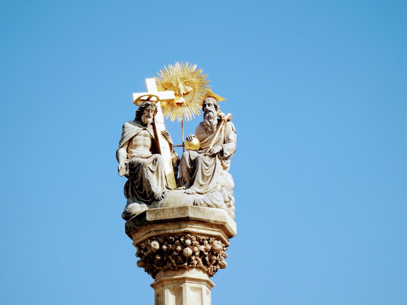 Szombathely - Szentháromság-oszlop