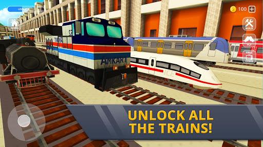 Railway Station Craft: Magic Tracks Game Training 1.0-minApi19 screenshots 8