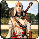 Shadow Ninja Girl Arashi KungFu Saga Survival War APK