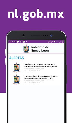 Gobierno de Nuevo León screenshot 3