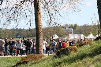 Photo: Många var vi som besökte Ekenäs slott denna dag, ca 500 för oss i kön säger väl inte så lite??