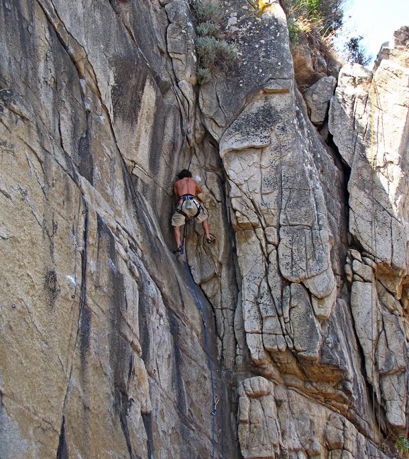Salita in parete verticale di marvig51