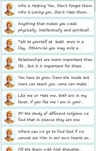 101 Great Saying By Vivekanand