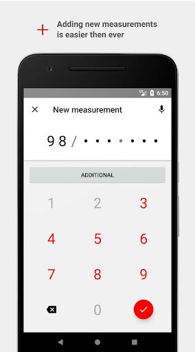 Cardio Journal u2014 Blood Pressure Log 3.2.0 Screenshots 2