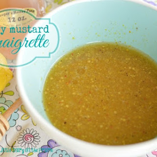 Perfect Honey Mustard Vinaigrette.