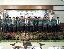 Pengurus dan Ketua PCNU Kabupaten Ngawi