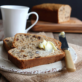 Spiced Walnut and Date Bread