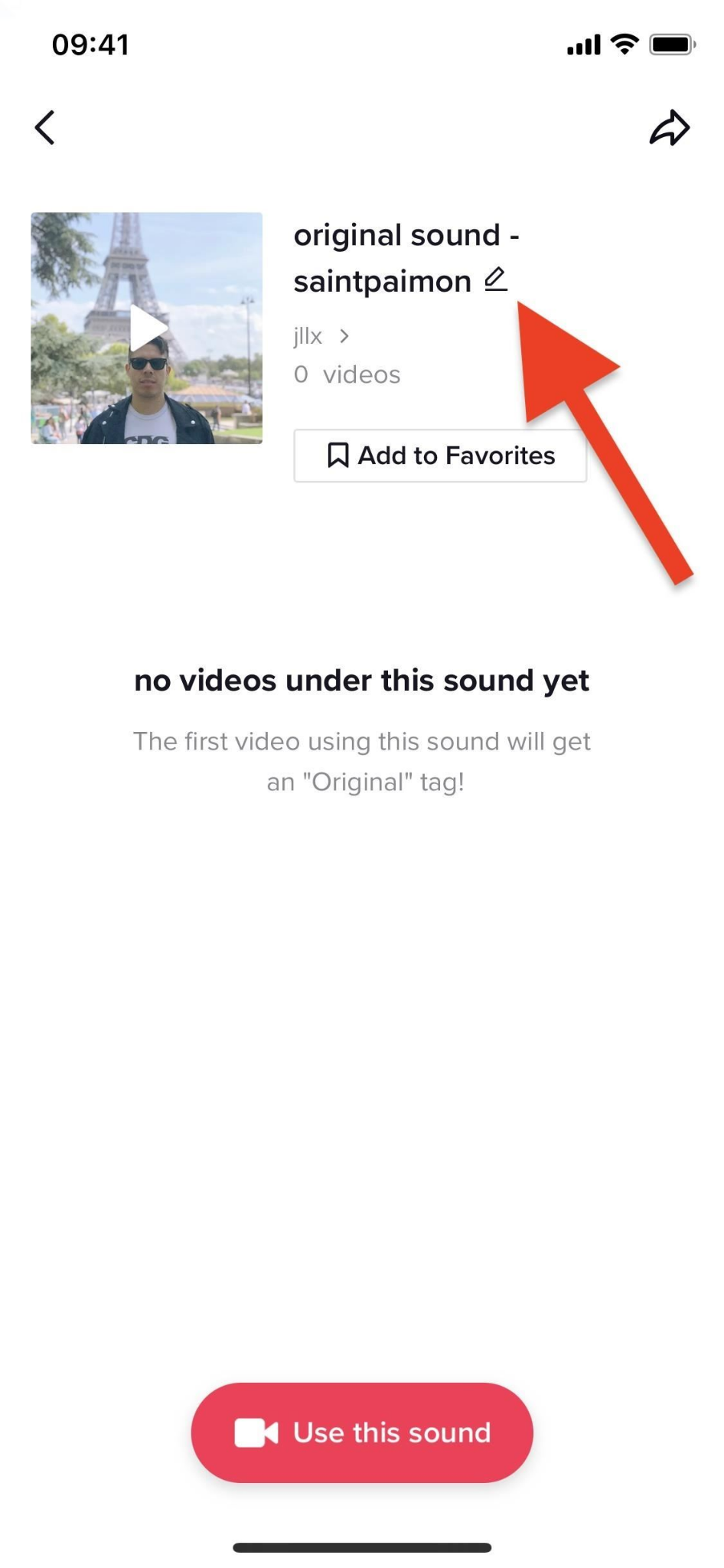 Create a sound on TikTok to aid your viral marketing
