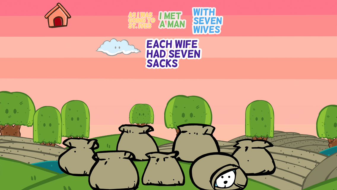St. Ives: book & nursery rhyme FREE- screenshot