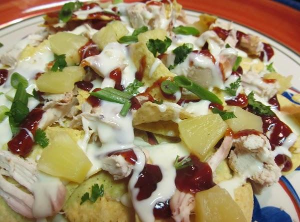 Barbeque Chicken Nachos Recipe