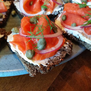 Smoked Salmon On Pumpernickel Bread Recipes