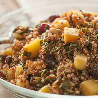 Quinoa, Chard and Apple Salad