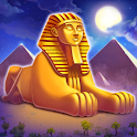 Cradle of Empire: Match 3 in a Row. Egyptian blast icon