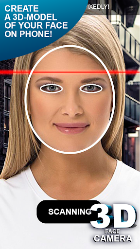 3D Face Camera simulator