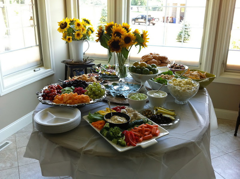 Photo: There was so much food, and it was all awesome.