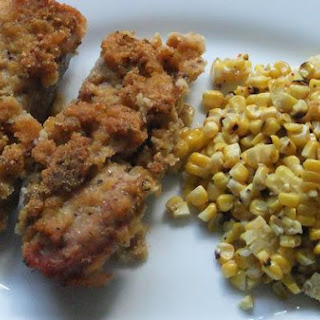 Cornmeal and Green Peppercorn Crusted Spareribs