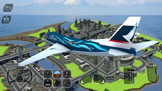 Take off Airplane Pilot Race Flight Simulator 9
