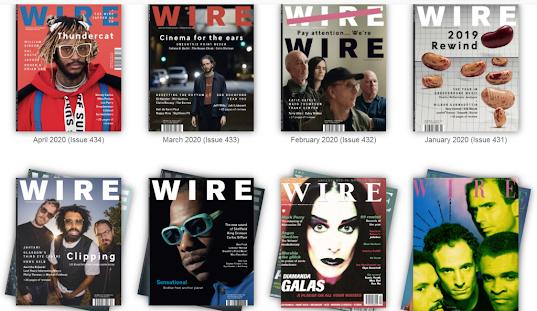 英國前衛音樂雜誌《 The Wire 》限時免費公開