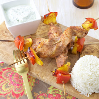 Mango Chicken Tandoori Skewers