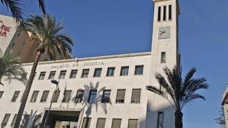Edificio de la Audiencia, sede de la Fiscalía Provincial.