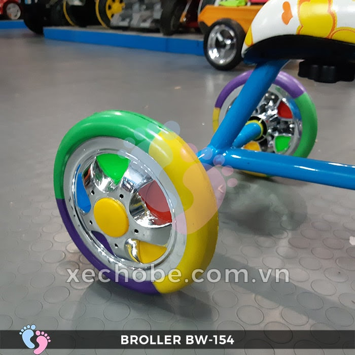 Xe đạp 3 bánh cho bé Broller XD3-154 10