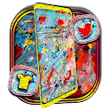 Acrylic Painting Launcher Theme icon