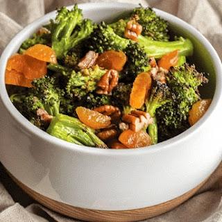 Broccoli Apricot Pecan Salad.