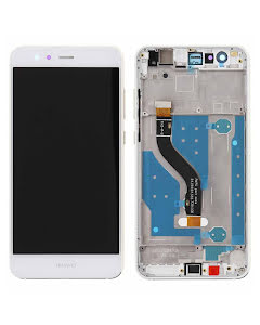 Huawei P10 Lite LCD Display with Frame White