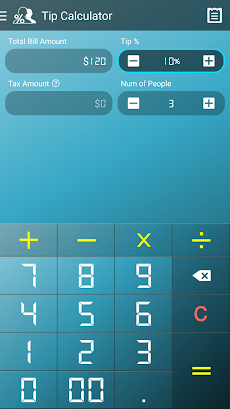 tip calculator androidアプリ applion