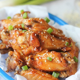Sweet and Sticky Korean Fried Chicken.