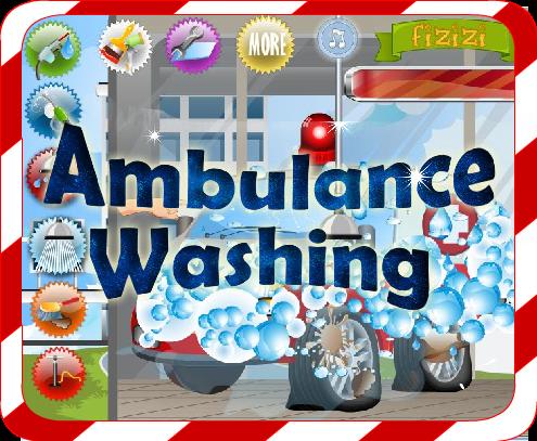 Car Wash Games -Ambulance Wash filehippodl screenshot 1
