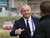 Heureux, Jean-Michel Aulas en profite pour tacler la LFP