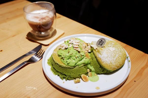 KoKu café 榖珈琲|抹茶舒芙蕾鬆餅,鮮奶油堪稱一絕!東區甜點推薦!