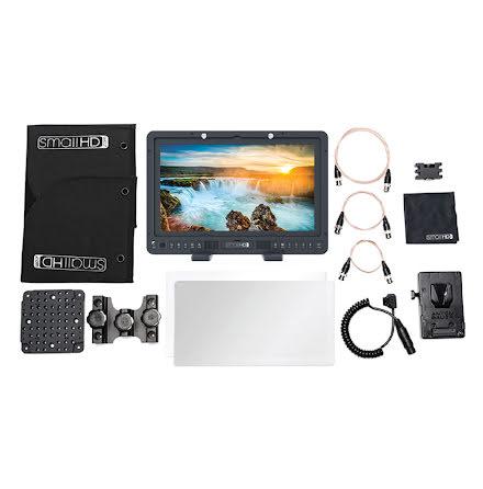 SmallHD 1703-P3X 17-inch Studio Monitor Kit - V Mount
