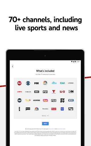 YouTube TV - Watch & Record Live TV 4.33.3 Screenshots 7