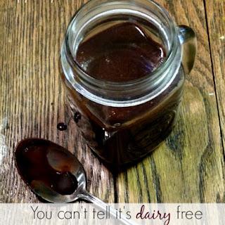 Dairy Free Chocolate Sauce