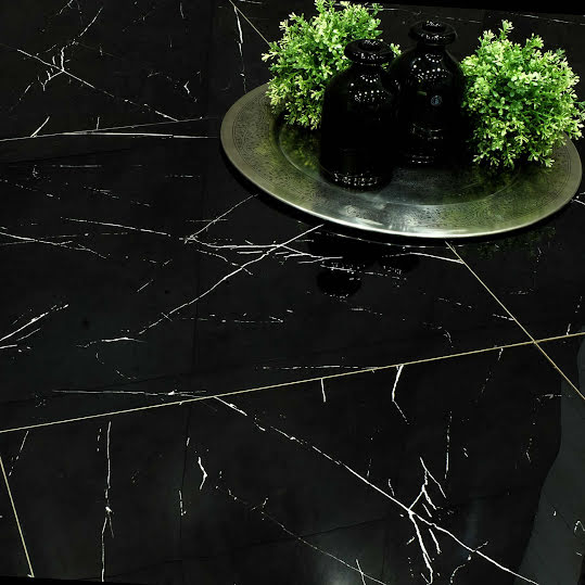 Klinker Nero Marquina Light Blank 60x60