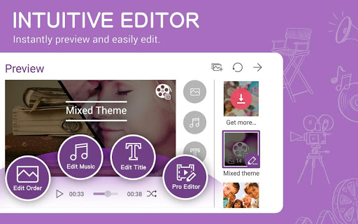 MiniMovie - Free Video and Slideshow Editor screenshot 11