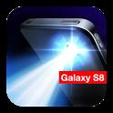 Flashlight Galaxy S7 + S8 icon