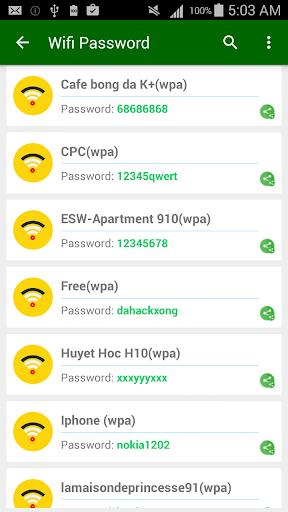 Wifi Password [Root] 2.8.3.1 screenshots 3