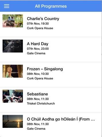 Cork Film Festival 2015