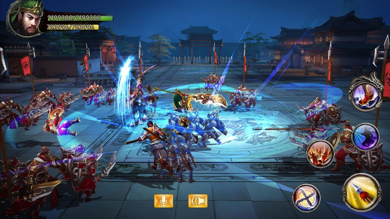 Kingdom Warriors- screenshot
