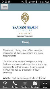 Saadiyat Beach Golf Club- screenshot thumbnail