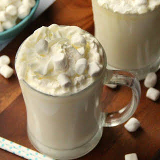 Slow-Cooker White Chocolate Hot Cocoa.