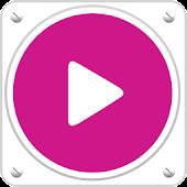 PlayerPro Skin Flatty Pink
